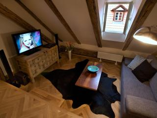 Old World One-Bedroom Apartment, Praga