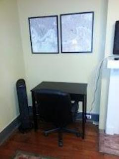Work desk with Computer drawer