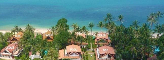 Aerial view of Laguna Villas