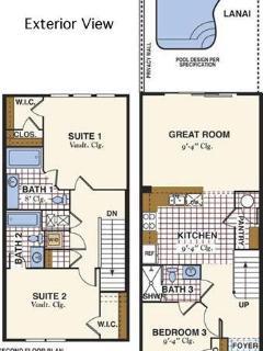 Floor Plan of Town house