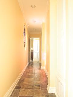VRBO PH Hallway from Living Area