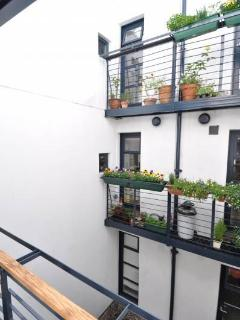 The little kitchen balcony