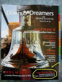 Doers and Dreamers the guide to nova Scotia