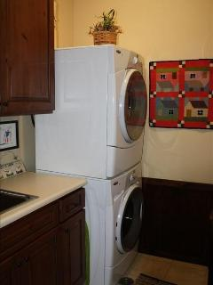 Laundry Room with state of the art appliances