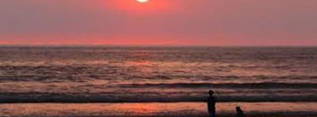 Sunset On Beach - Directly Outside Villa Kaira