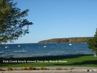 Water View - The BEACH HOUSE -  Avail Aug 12 & 1 3, Fish Creek