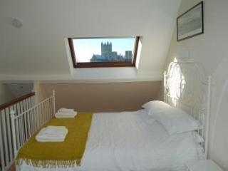 Bedroom with view of the Cathedral