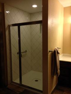 Master Top Floor Oversized Shower