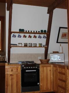 Section of Kitchen