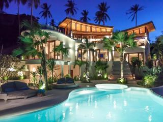 Villa Kya 4 bed designer villa stunning sea views, Bophut