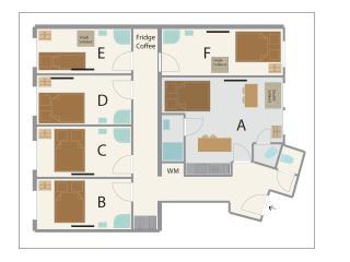 Unschlagbare! 6 Schlafzimmer-6bathrooms, buchbare pro Zimmer, Viena