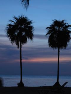 West Bay Beach Evening