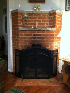 Fireplace (Duraflame logs supplied)