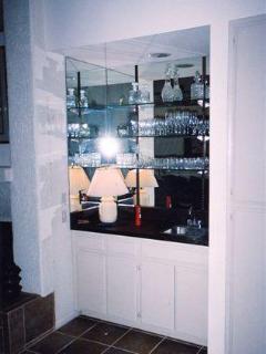 Wet Bar in Living Room