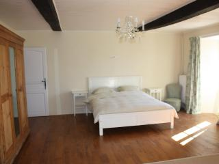Bedroom 2 with lovely views over our south facing gardens