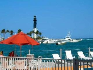 LIGHTHOUSE VIEW!!   Waterfront Studio Pompano Bch, Pompano Beach