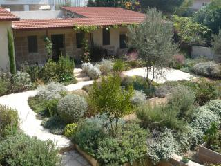 Beautiful Stone Cottage in Tranquil Zichron Garden