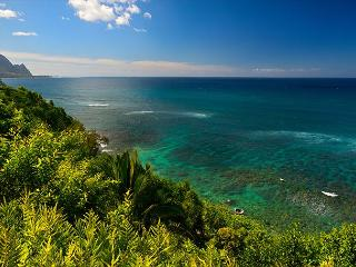 Gorgeous Views from Beautiful Hanalei Bay Villa!!  Stand-alone Villa!!, Princeville