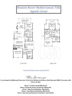 The Mediterranean Villa;  Floorplan