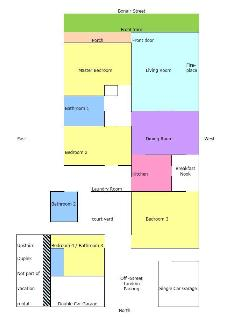 Layout of house, please email for larger copy if needed