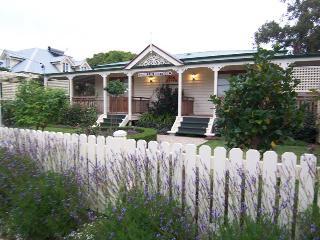 Camellia Cottage in December