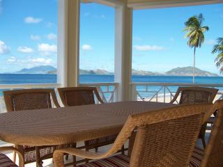Pinney's Beach, Nevis West Indies, île de Nevis