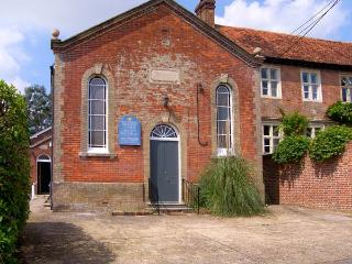 THE METHODIST CHAPEL, converted chapel, with games room, off road parking, and garden, in Whiteparish, Ref 16337