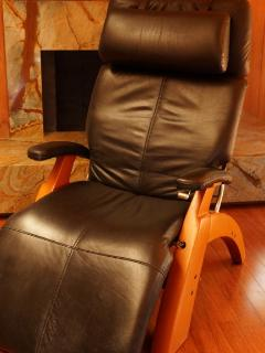 """Perfect Chair"" zero gravity leather with Tempurpedic foam. EXTREMELY relaxing!"