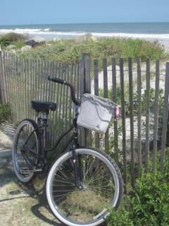 Explore Folly by bike - we provide several