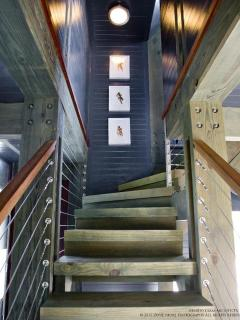 stairs on 2nd floor