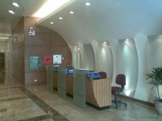 Lobby with 24 hr security