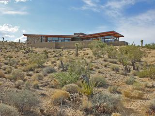 Modern Architectural Desert Retreat with Pool
