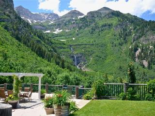 Best View at Sundance! Waterfall in your Backyard!