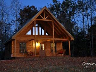 Beautiful log cabin on 20 acres, French Lick, IN