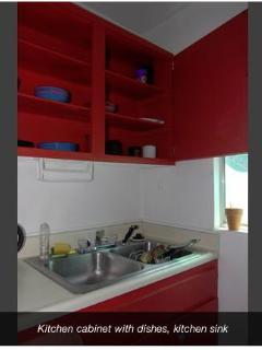 dishes, kitchen sink