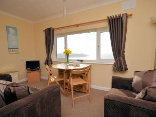 Lounge/dining area with fantastic sea views