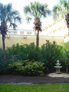 Courtyard of building two