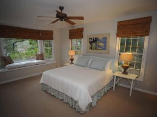 Spacious master with king bed and great views