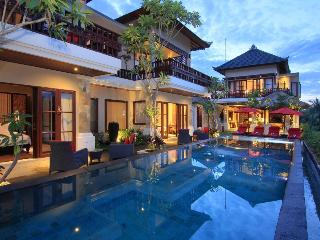 Luxury 4Bedroom Pool Villa Ubud ricefield view