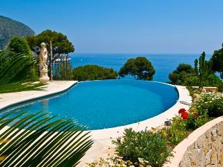 Villa Eze holiday vacation villa rental france, southern france, riviera, cote dazur, pool, view, holiday vacation villa to rent f, Clugnat