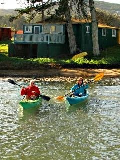 The Green Cottage provides a great location for exploring Morro Bay. Bring your kayak, SUP or canoe.