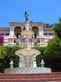 Hearst Castle was designed by architect Julia Morgan from 1919 - 1947 for William Randolph Hearst.