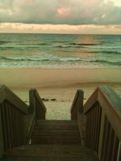 Steps to Gulf of Mexico