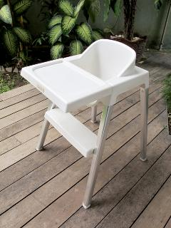 Inglesena Italian high contemporary high chair if required