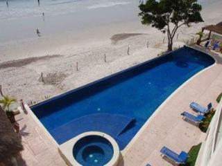 Absolute beachfront luxury condo w Infinity Pool.