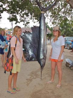 Our kids caught this off Punta Mita