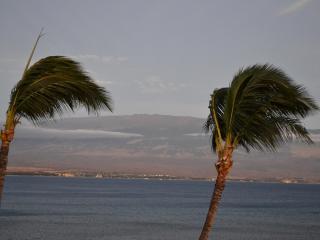 View of Haleakala from lanai