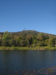 Bromley Mountain Viewed from the Pond