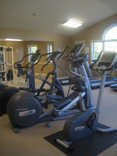 Workout Room Down the St. from the Condo, 16+ Only