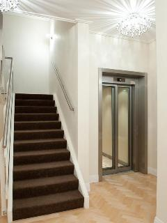 Visseringstaete private enterance lift